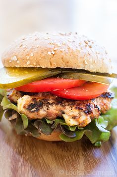 Greek Turkey Burgers with Feta #recipe