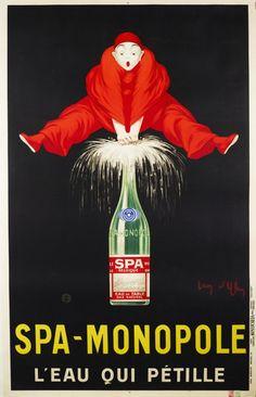 Ylen Jean Vintage Belgium Spa Monopole Sparkling by Vintagemasters