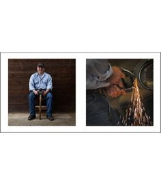 Farriers 6 - Livin'Art by Nicola Ughi   Diptych cm 40x40 Finished paintings cm 50x100     Maniscalchi (Farriers)  is a unique photography project that stems from the desire to give voice and visibility to a trade that is – as we sometimes say – an art. Nicola Ughi unites a strong documentary motivation with a spontaneous aesthetic research.   #maniscalchi #farriers