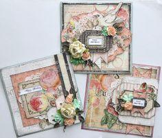 Paper Flourish: Lesson Prima Cards By Janine K
