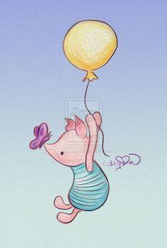 """Piglet """"Oh D-d-d-dear"""" by SteamboatLyssie"""