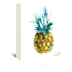 Found it at Wayfair.ca - Pineapple by Suren Nersisyan Original Painting on Wrapped Canvas