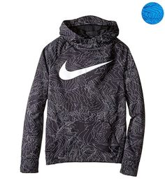 pretty nice c6b29 73c37 Nike Big Boys  (8-20) Therma Allover Print Pullover Hoodie (eBay