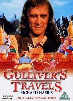 Gulliver S Travels 1977 Reino Unido Dir Peter R Hunt Sinopse Un Medico Unico Superviviente De Un Naufragio Va A Parar A Una Is Dvd Viajes Reino Unido