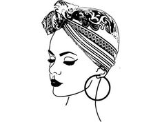 Bandanas, Lost Images, Head Tattoos, Vector Clipart, Vinyl Designs, Turban, Silhouette Cameo, Scarf Wrap, Embroidery Designs