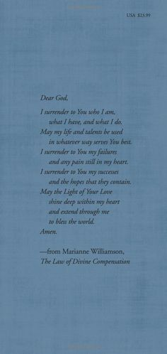 The Law of Divine Compensation: On Work, Money, and Miracles: Marianne Williamson: 9780062205414: Amazon.com: Books