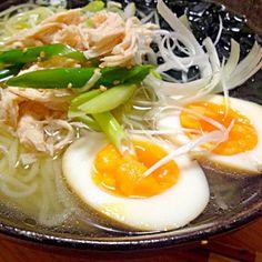 最近はまってます。簡単で美味しいよ*\(^o^)/* - 6件のもぐもぐ - 塩ラーメン by arsaruka
