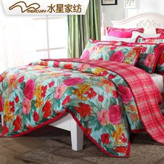 MERCURY Home Textile Japan style Tokyo summer bedding set with 4 pcs 100% cotton Twill reactive printed bed sheet,High Quality bedding set black,China bedding set king size Suppliers, Cheap bedding pirates from MERCURY Home Textile Official Store on Aliexpress.com