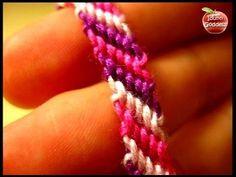 DIY How To Make Friendship Bracelet - Easy Tutorial For Beginners - YouTube