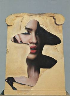 "Saatchi Art Artist Deborah Stevenson; Collage, ""Sub Culture"" #art"