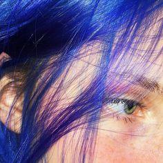 Dye My Hair, New Hair, Your Hair, Aesthetic Hair, Blue Aesthetic, Hair Inspo, Hair Inspiration, Sup Girl, Catty Noir