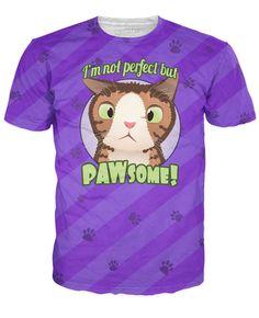 PAWsome Purple T-Shirt