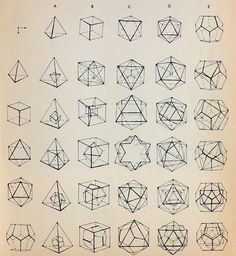 Platonic Solids Sacred Geometry