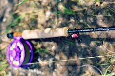 2120037311ae3 Sage X Fly Rod with pink fly reel. Duranglers Fly Fishing Fly Reels
