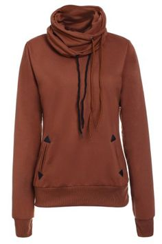 GET $50 NOW | Join RoseGal: Get YOUR $50 NOW!http://www.rosegal.com/sweatshirts-hoodies/stylish-cowl-neck-long-sleeve-209277.html?seid=7066259rg209277