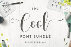 This bundle is available for 5 more days 3/27/17...9 fonts for $12 Cursive Fonts, Handwritten Fonts, Typography Fonts, All Fonts, Hand Lettering, Chalkboard Poster, Design Lab, Blog Design, Beautiful Fonts