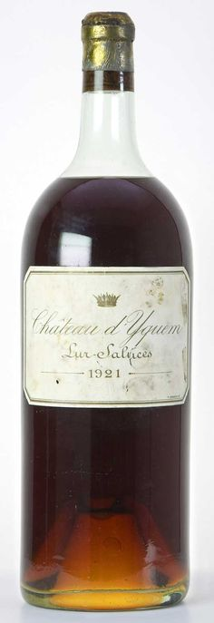 Château d'Yquem I've had the pleasure of drinking this delicious wine on several occasions.