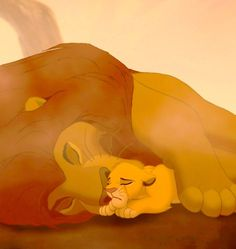 The lion king : sad part : simba's dad dies
