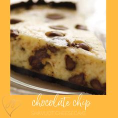 A classic kosher cheesecake made all the more delectable by adding chocolate chips. Perfect for Passover when paired with a Chocolate Macaroon Pie Crust or made in a traditional graham cracker pie crust for Shavuot or anytime you want a dairy dessert. Chocolate Swirl Cheesecake, Chocolate Macaroons, Chocolate Chips, Passover Desserts, Passover Recipes, Jewish Recipes, Kosher Recipes, No Dairy Recipes, Dessert Recipes