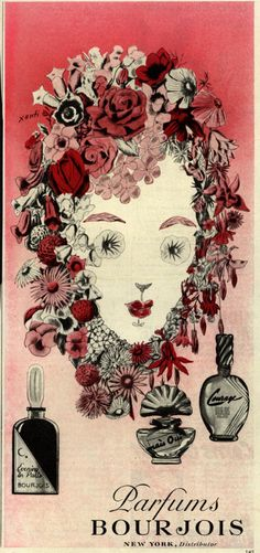 Parfums Bourjois . From Duke Digital Collections. Collection: Ad*Access 1945