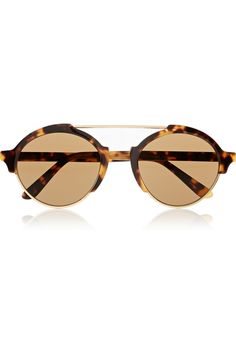 Illesteva|Milan III round-frame acetate sunglasses|NET-A-PORTER.COM