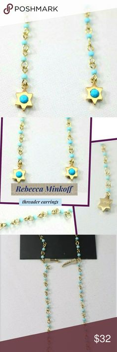 White New Rebecca Malone Beaded Choker Green and Crystal 1 size fits all