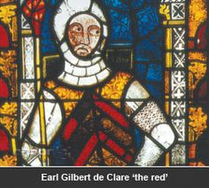 Gilbert de Clare Earl of Gloucester married Joan of Acre, daughter of King Edward in 1290.