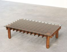 Gianfranco Frattini Kyoto coffee table   http://www.furniture-love.com/browse.php   From selection of important 20th century modern furniture.
