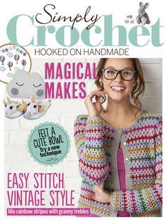 Simply Crochet № 54 2017 - 轻描淡写 - 轻描淡写