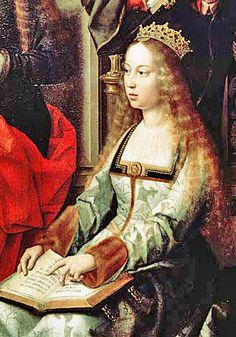 Isabella I van Castilië is een belangrijk persoon in de geschiedenis van Spanje. Zij was vorstin van Castilië van 1474 tot 1504. Zij was ook degene die Columbus opdracht gaf voor zijn ontdekkingsreizen.