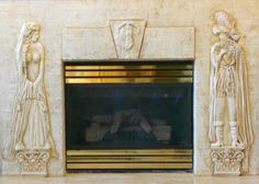 Carved Plaster Fireplace, Architectural Relief,Plaster High Relief, Wall sculpture,Sculpted Wall Panel,Sculpturesque Painting, Sculpted Walls, High Relief, Bas Relief