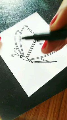 Art Drawings For Kids, Art Drawings Sketches Simple, Pencil Art Drawings, Doodle Art Drawing, Mandala Drawing, Simple Art Designs, Mandala Art Lesson, Doodle Art Designs, Art Drawings Beautiful