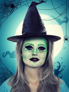 Hexe schminken für #Halloween: Fertiger Look und Step-by-Step Anleitung
