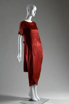 1917 - Callot Soeurs. Silk. Front