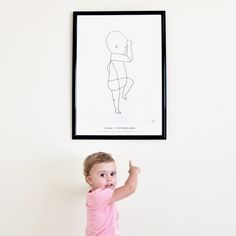 New girls bedroom by @The Birth Poster