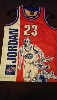 Michael Jordan 23 Space Jam Rare Jersey Size XS Small Men's or Youth