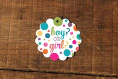 or Girl? - Rainbow Sprinkle Tags, Perfect for Baby Showers, Polka Dot, Rainbow, Sprinkled with Love by CaffeinatedSquirrel on Etsy Sprinkle Cupcakes, Love Cupcakes, Baby Sprinkle, Baby Shower Tags, Bridal Shower, Gender Reveal Cupcakes, 2nd Baby Showers, Love Wishes, Love Tag
