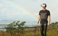 Man walking, Virtual Reality Headsets  #vr #virtualreality #headsets #technology #photography #stockphotos