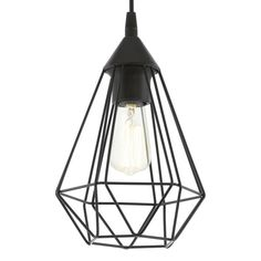 Eglo hanglamp , Zwart