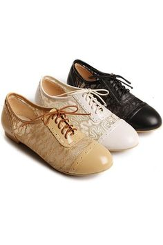 lace oxfords. LOVE THEM SO MUCH!!!