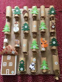 Advent Calendar, Holiday Decor, Kids, Christmas Ideas, Christmas Things, Calendar, Children, Christmas, Crafting