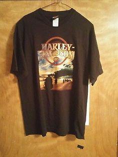 Lg 100% cotton Harley Davidson T- shirt Anchorage, Alaska
