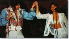 Elvis Presley and Kathy Westmoreland September 6, 1976