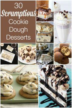 30 Scrumptious Cookie Dough Desserts