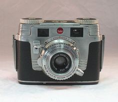 Vintage Kodak Signet 35 35mm camera with Kodak Leather Case For Display or Repair  1951-1958 by CanemahStudios on Etsy