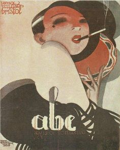 hoodoothatvoodoo:  ABC Illustration by Jorge Barradas 1926