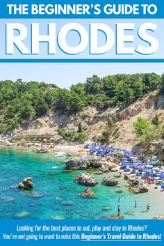 Looking for the best places to eat, play and stay in Rhodes? You're not going to want to miss this Beginner's Travel Guide to the Greek Island of Rhodes.  Link: http://www.pausethemoment.com/beginners-guide-to-rhodes-greece/