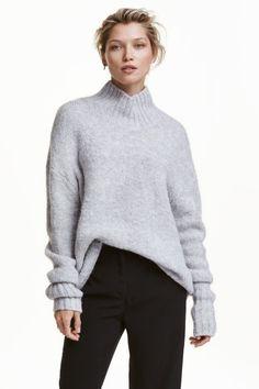 Dolcevita in maglia