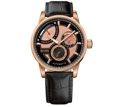 Automatic Hugo Boss Rose Gold Men's Watch
