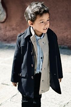 BAM. i am so dressing my little boy like this whether he likes it or not.